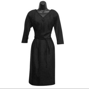 R & K originals black Vintage Dress